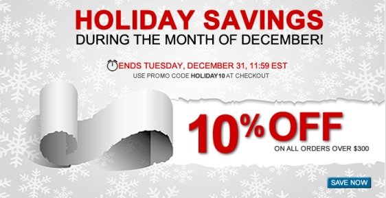 Ryder Fleet Products Holiday Savings