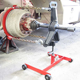 K-1356 Brake Drum Puller shown with K-1350 Wheel Grabber