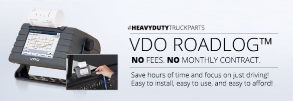 VDO RoadLog Electronic Logging Device