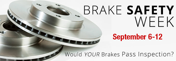 Brake Safety Week