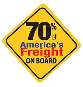 70% Americas Freight