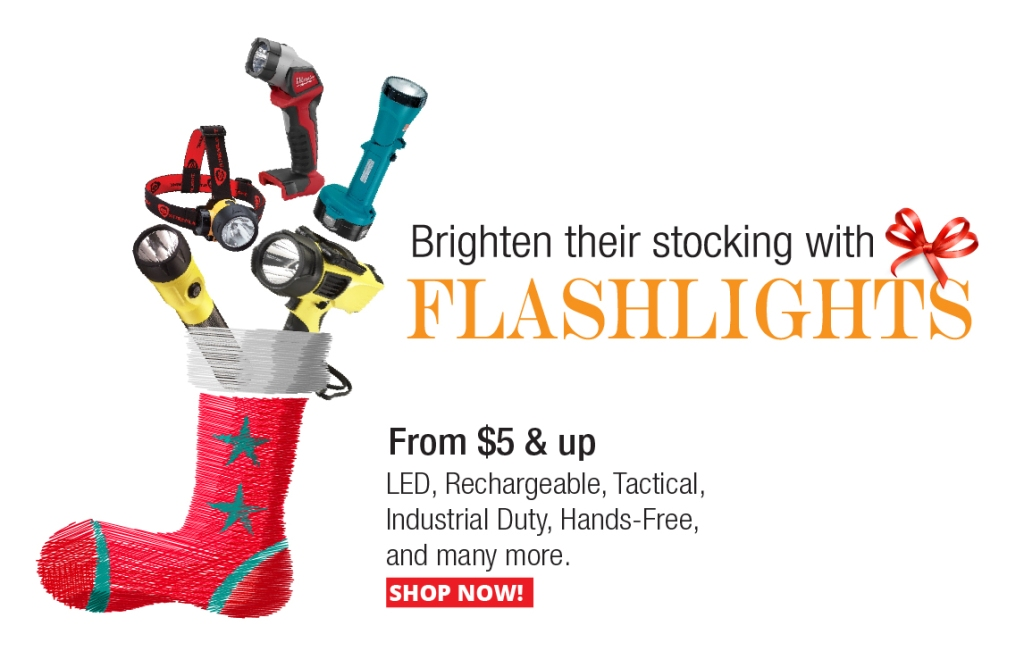 Flashlight Stocking Stuffers