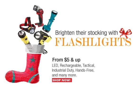 Flashlight Stocking Stuffers