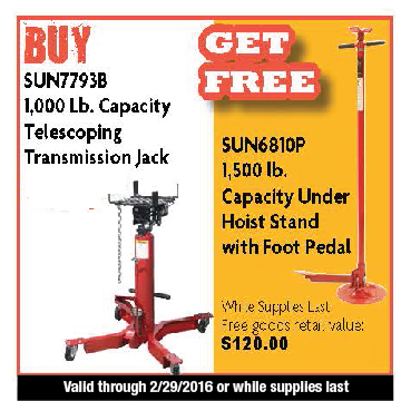 Telescoping Transmission Jack
