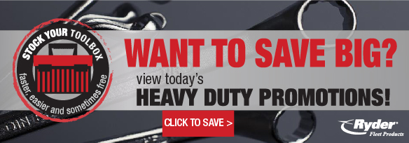 Heavy duty truck parts promotions