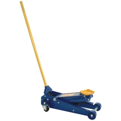TRUE BLUE 2 Ton Floor Jack, For Lifting Small To Medium Sized Cars,  OMEHW93642