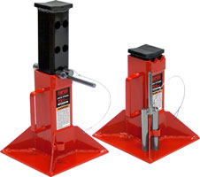 25 Ton Low Profile Jack Stands made in usa